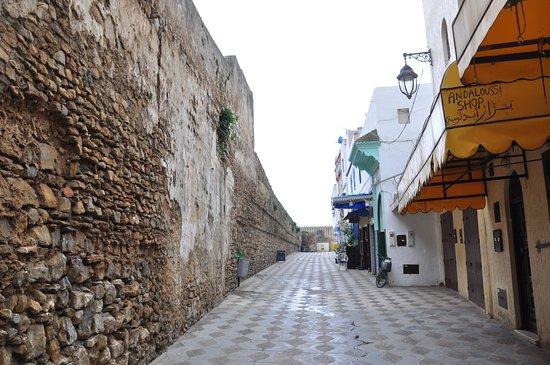 Riad Assilah : langs de stadsmuur