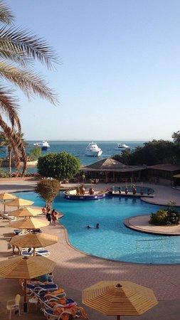 Hurghada Marriott Beach Resort : Uitzicht