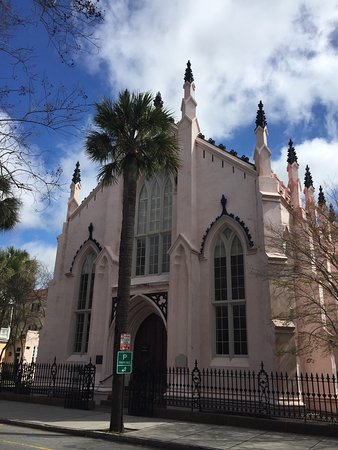 Photo of Venue French Huguenot Church at 136 Church St., Charleston, SC 29401, United States