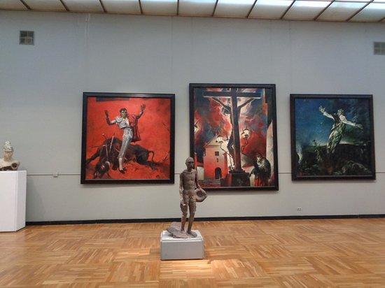 Третьяковская галерея на Крымском валу: Залы музея