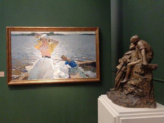 Третьяковская галерея на Крымском валу: Экспонаты музея