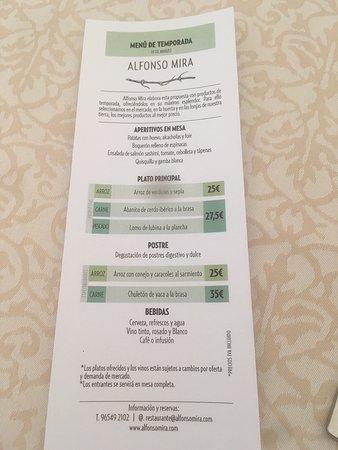 Aspe, Spain: Alfonso Mira