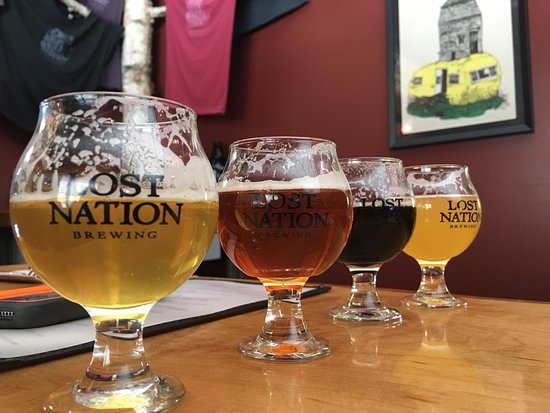 Morrisville, Вермонт: Great beer and delicious food