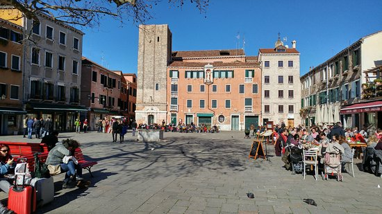 Photo of Monument / Landmark Campo Santa Margherita at Sestiere Di Dorso Duro, Venice, Italy