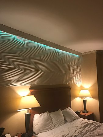 Weird Lights Above The Bed Picture