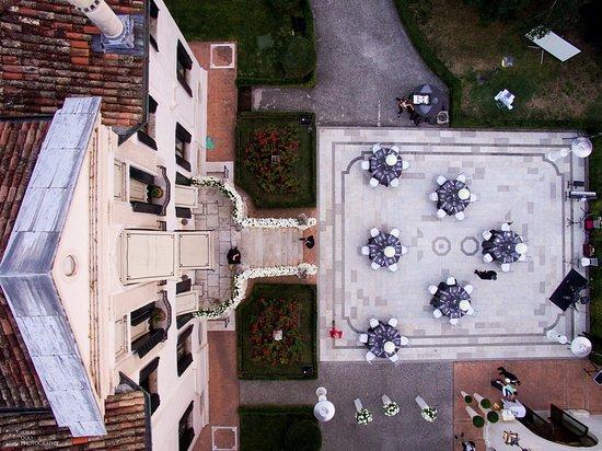 Hotel Villa Franceschi: Campiello view