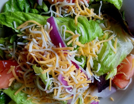 Bay Saint Louis, MS: House Salad, attractive and more than the usual salad...