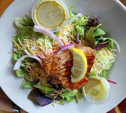 Bay Saint Louis, MS: Grilled Tuna Salad, tasty & perfectly prepared...
