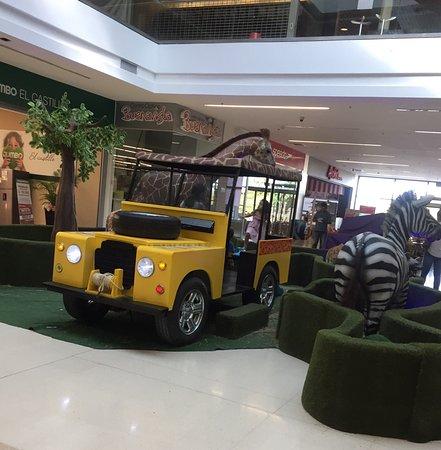 Mall Plaza El Castillo: Africa!