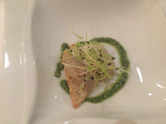 Plobsheim, Francia: A fish appetiser