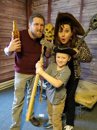 Frederick, MD: Shiver me timbers! What a fearsome pirate crew!