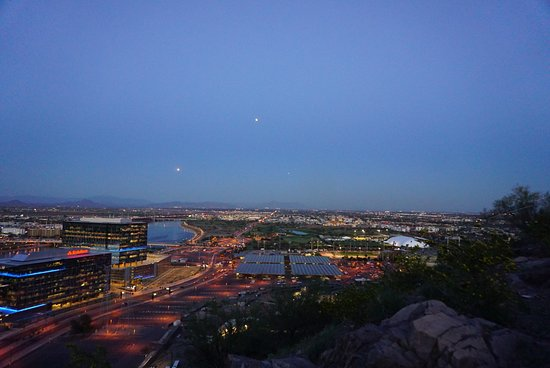 Tempe, AZ: From the top looking toward ASU and the east