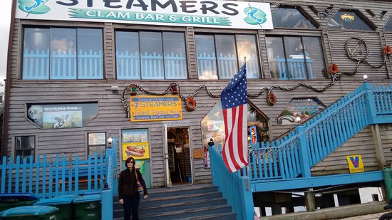 Steamers Clam Bar & Grill: General store on the bottom and restaurant on the top