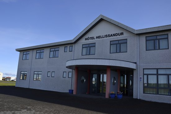 Hellissandur, Island: Facciata Hotel