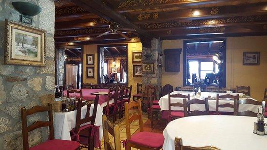 Hospital de Benasque: Restaurante del hotel.