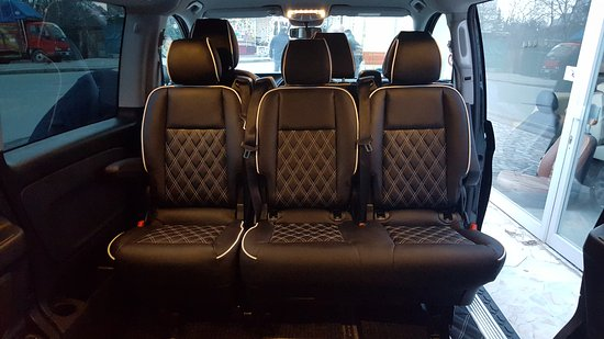 8 seater Vip Mercedes Vito 2016 - Picture of Europe van rental ...