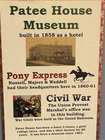 Patee House Museum: photo0.jpg