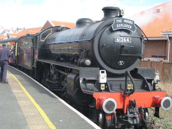 North Yorkshire Moors Railway: Steam Train 1