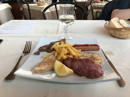 Montorfano, Italy: Secondo piatto