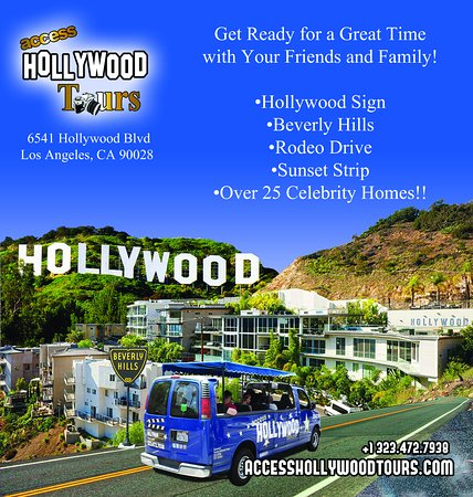 Access Hollywood Tours A Gift From Us Save Additional 10 By Entering Promo Code