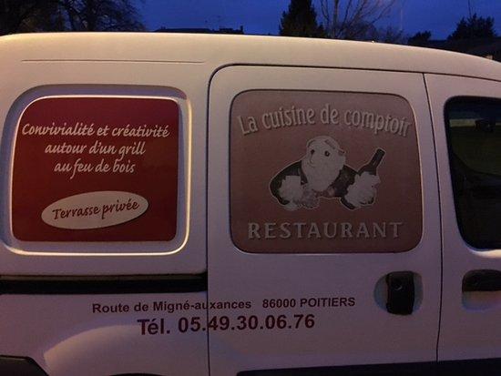 La Voiture Du Chef Photo De La Cuisine De Comptoir Poitiers - Cuisiner comme un chef poitiers
