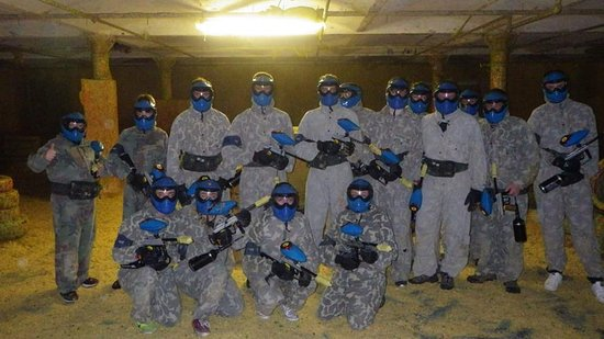 Manchester Paintball Arena: Blue Team