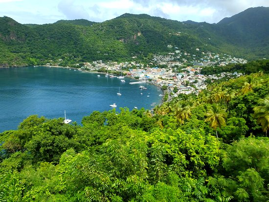 Vieux Fort, St. Lucia: 5th Anniversary Vacation at Soufrière