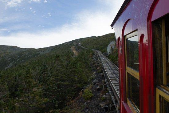 Bretton Woods, NH: Mount Washington Cog Railway