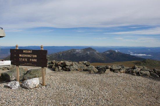 Bretton Woods, NH: Mount Washington Cog Railway Summit