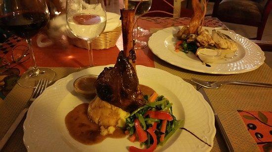Restaurante Aquarelle : Fantastic specials