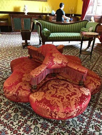Kilkenny Castle: settee