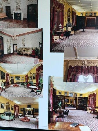 Kilkenny Castle: various rooms artist's rendering for renovation