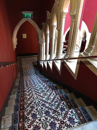 Kilkenny Castle: Moorish style stair way