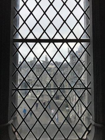 Kilkenny Castle: window view