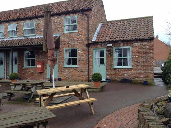 Green Hammerton, UK: Rooms 1 - 3 from pub