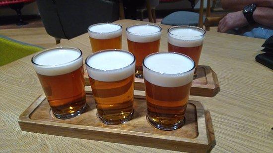 Stockport, UK: Beer sampling!