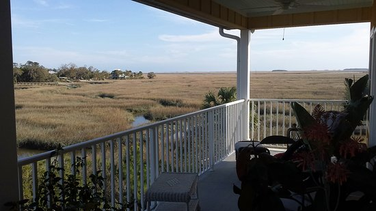 Darien, GA: view from our deck