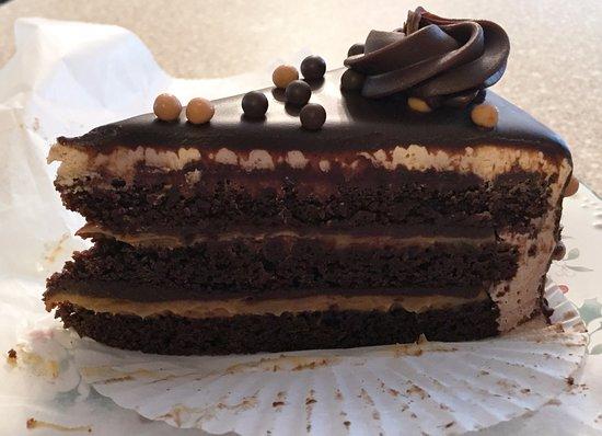Brockton, MA: Devil's Food Cake, with Peanut Butter