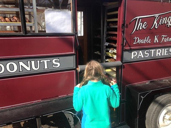 Cambridge, Estado de Nueva York: A rural donut cart--YUM!