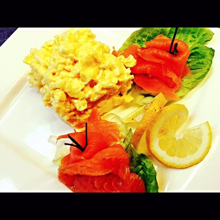 Maynooth, Ireland: Eggs & Salmon