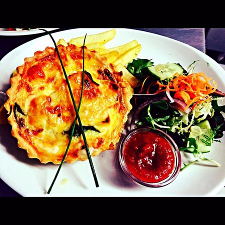 Maynooth, Ireland: Quiche