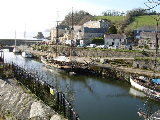 Rashleigh Arms: Walk around the harbour.