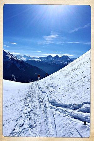 Wunderschöne Berglandschaft und geniales Skifahren direkt vor der Tür!