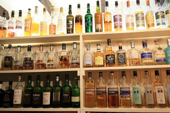 West Loch Hotel: A few of our Whiskies