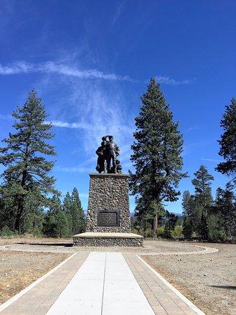 Truckee, CA: Donner Park Memorial