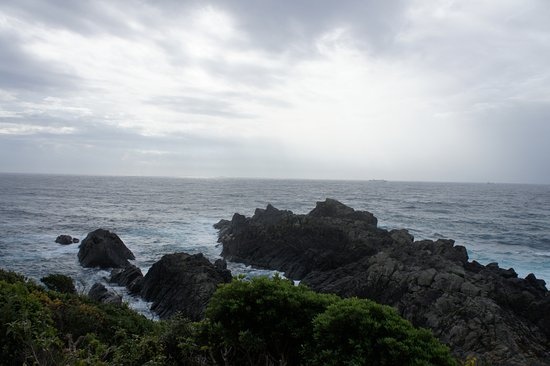 Cape Shionomisaki: 荒々しい岬です