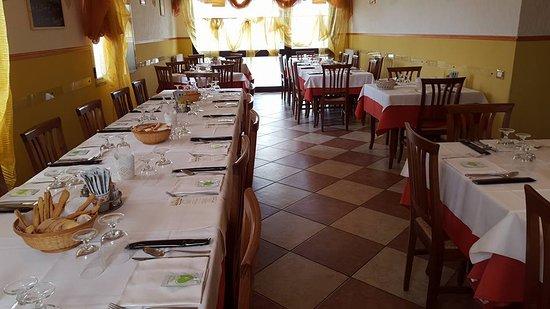 Vigonovo, Italia: Sala principale con 45 posti a sedere ideale per venti di gruppo