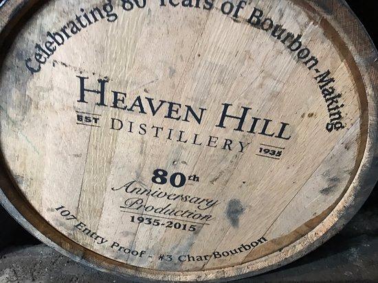 Bardstown, KY: Specialty barrel