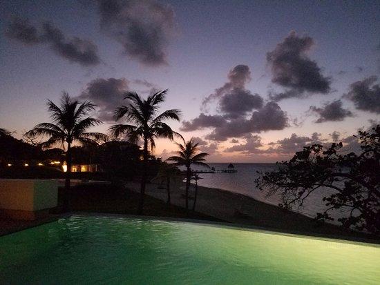 Las Verandas Hotel & Villas: on the veranda of Villa 2