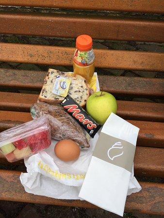De Koog, Nederland: Hotel dat een uitgebreide picknick tas meegeeft bij huurfiets arrangement